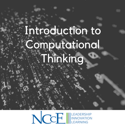 Introduction to Computational Thinking