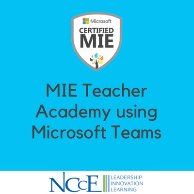 MIE Teacher Academy using Microsoft Teams