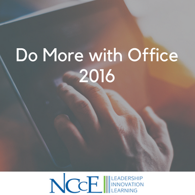Do More with Office 2016