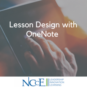 Lesson Design with OneNote