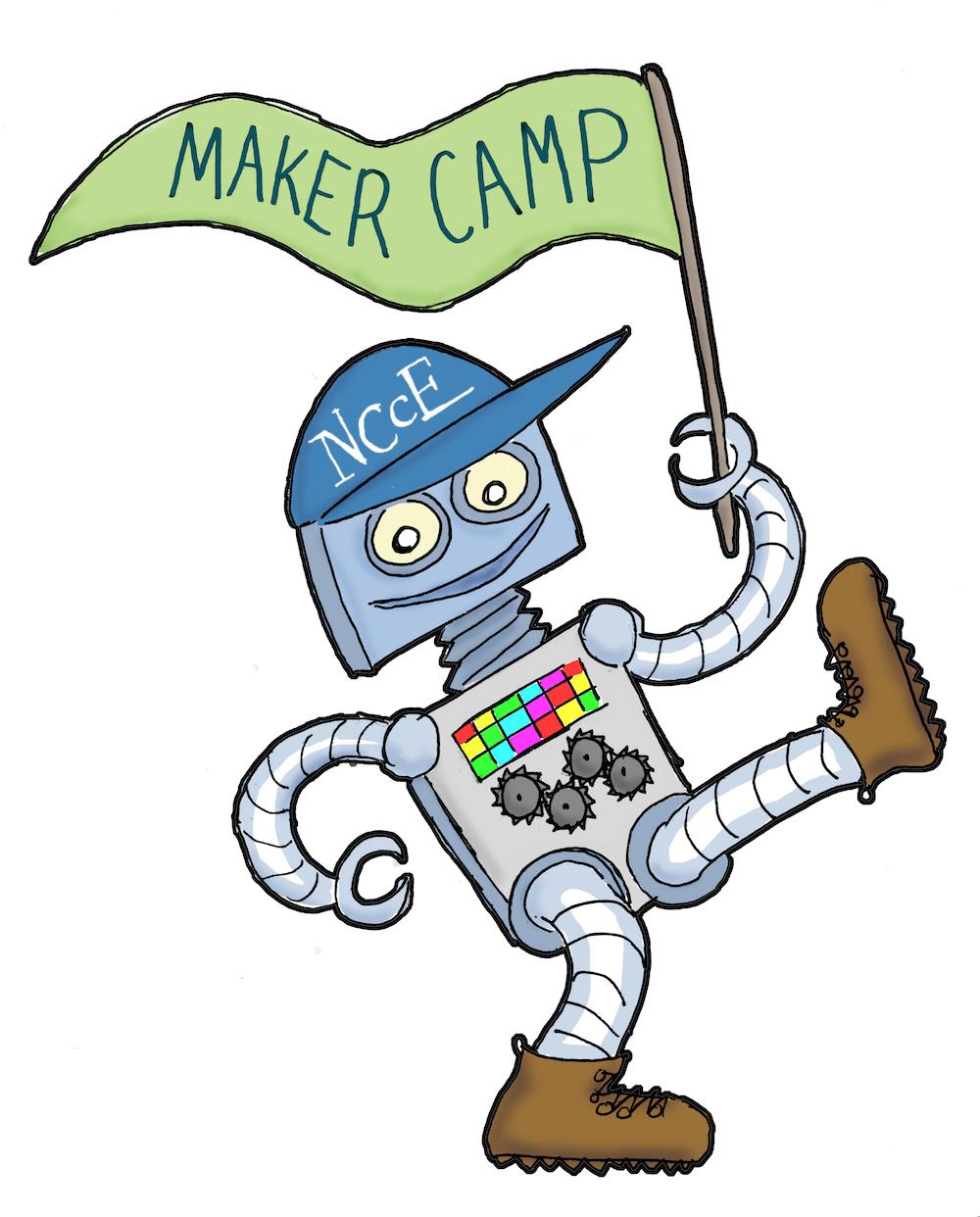 Maker Camp Mascot
