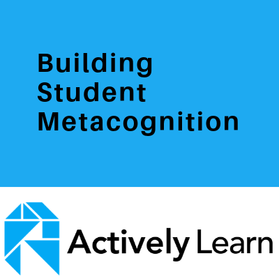 Building Student Metacognition