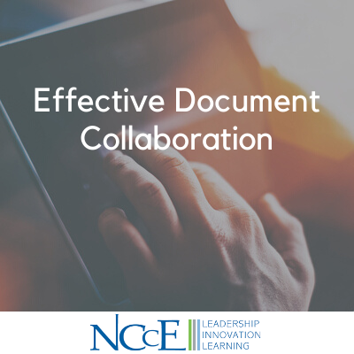 Effective Document Collaboration