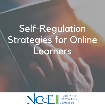 Self-Regulation Strategies for Online Learners