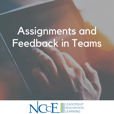 Assignments and Feedback in Teams