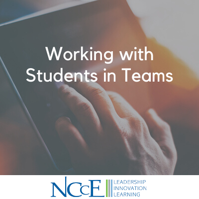 Working with Students in Teams