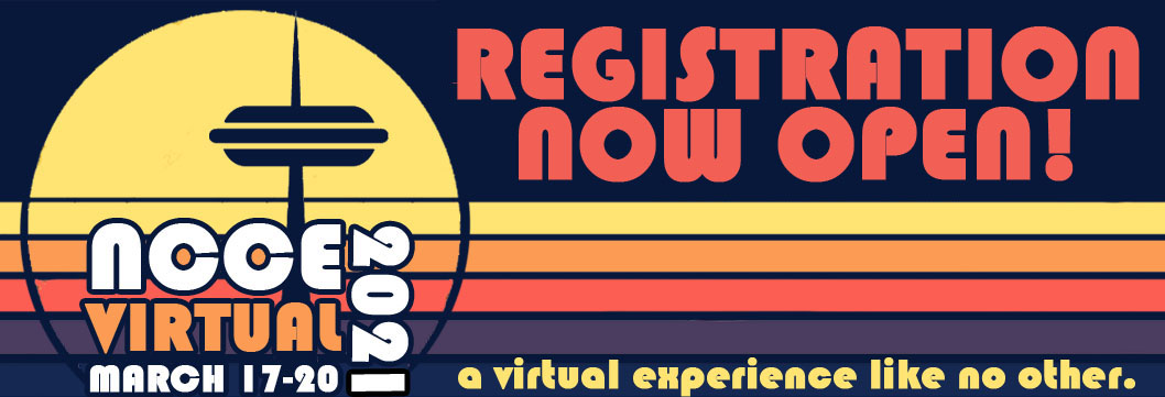 NCCE 2021 registration now open