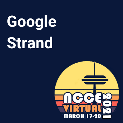 NCCE21 Google Strand