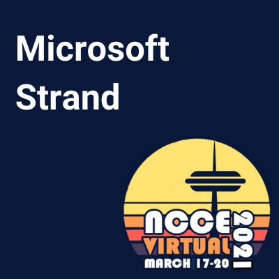 NCCE21 Microsoft Strand